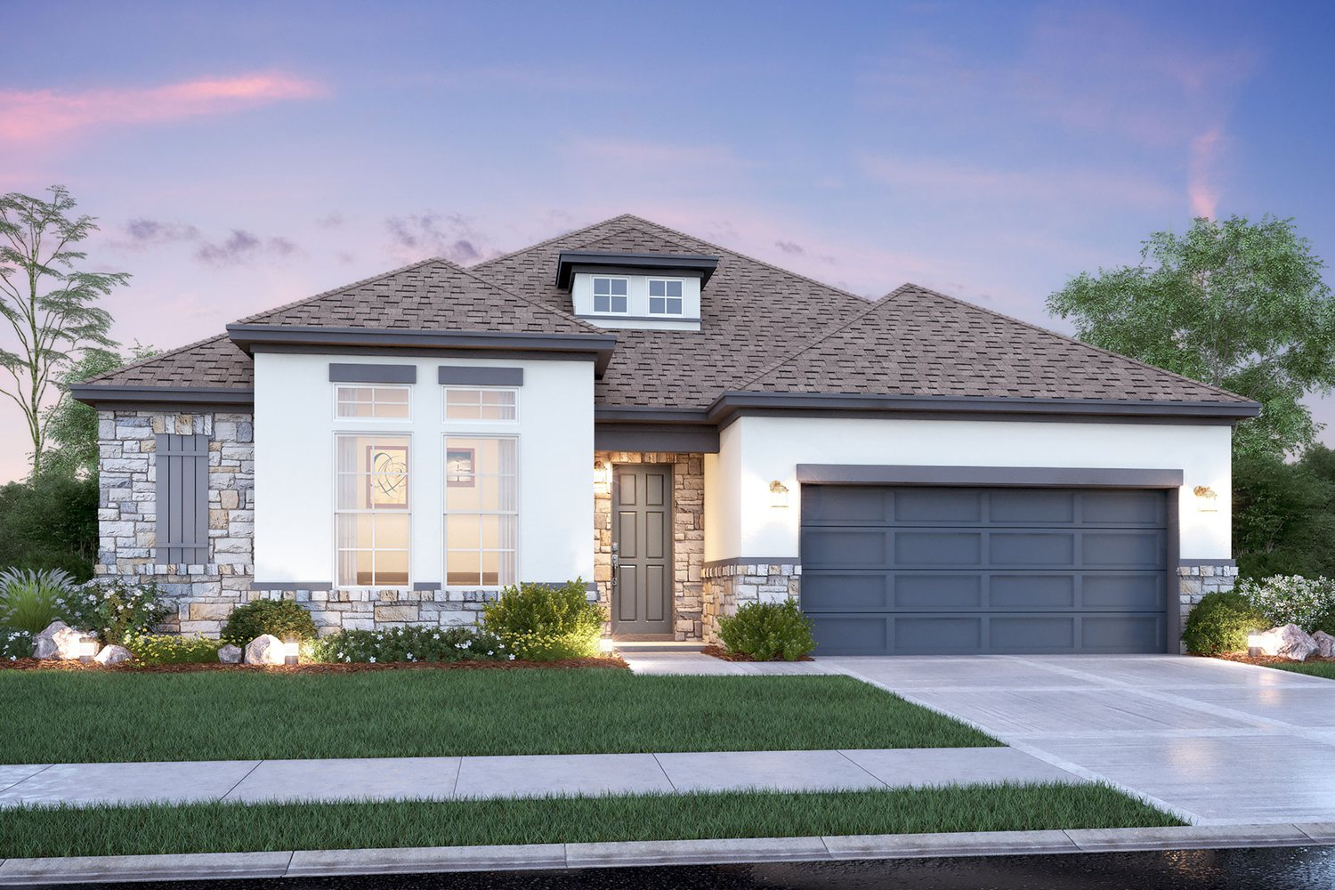 new construction home in tomball MI homes