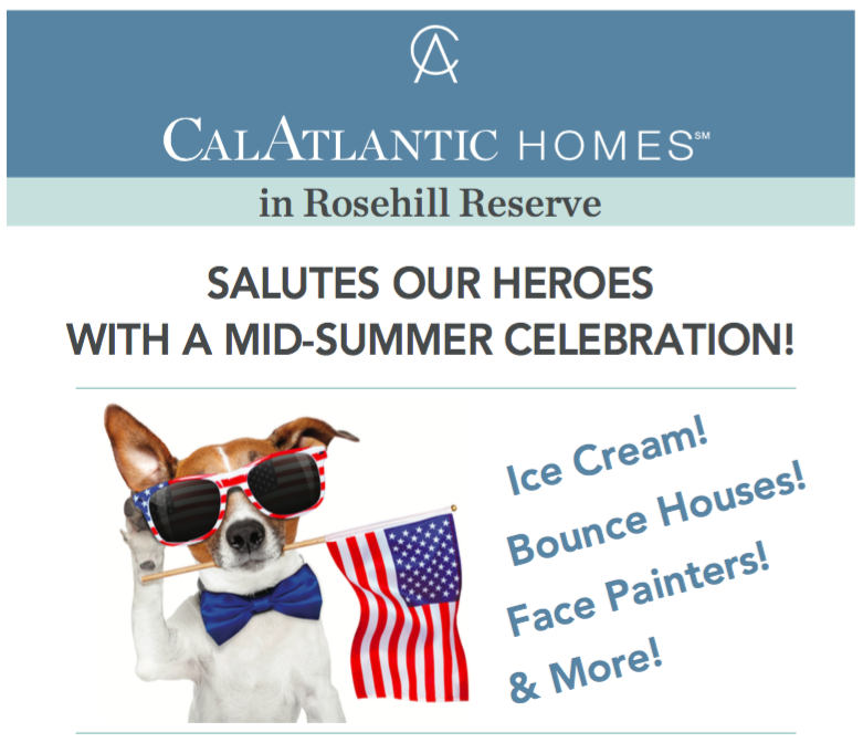 Salute Our Heroes Event July 22nd